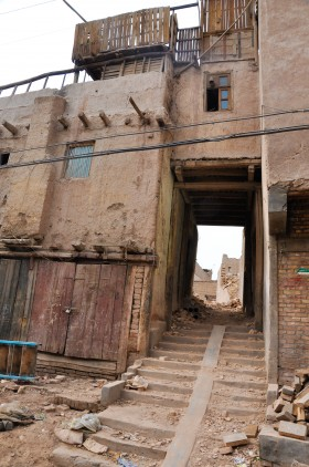 Kashgar demolition