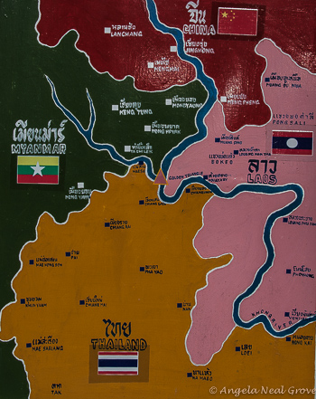 Map of Golden Triangle