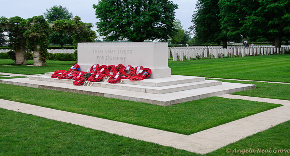 Commonwealth cemetery in Normandy on the 70th Anniversary of D-Day | Photo: Angela Neal Grove