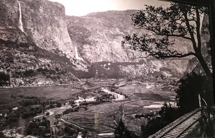 Hetch Hetchy Valley before-1