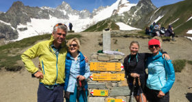 Mont Blanc Challenge, story of trekking around Mt. Blanc in 8 days. Three alpine countries, France, Switzerland and Italy