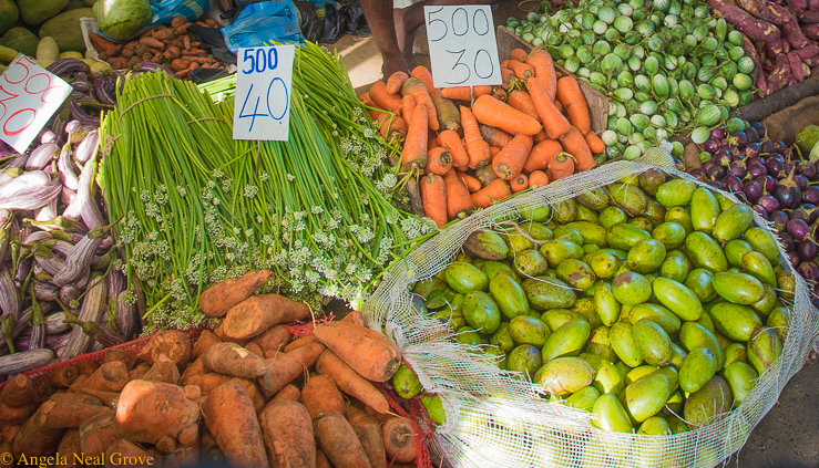 Traveling Spoon's Culinary Adventure; The produce market in Columbo, Sri Lanka, is a cornucopia of exotic fruits and vegetables//Photo:A.N.Grove