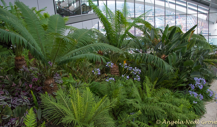 English Garden style: The three story roof garden on top of London's Walkie Talkie building