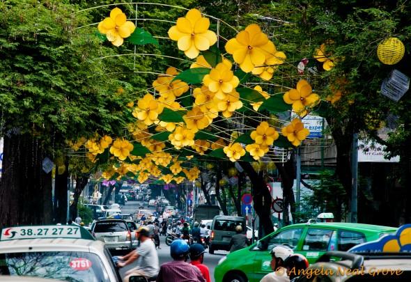 Celebrating Tet, Lunar New Year in Vietnam