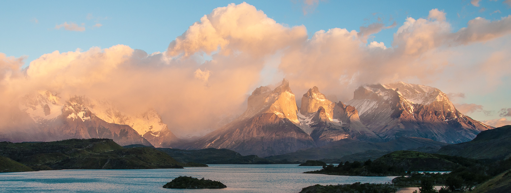 Sunrise at Torres del Paine, Patagonia | Photo: Angela Neal Grove