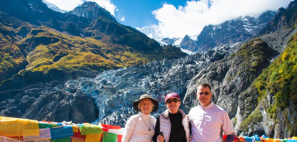 Shangri-La: Glaciers and Icefields on Mt. Kawagebo. Angela Neal Grove