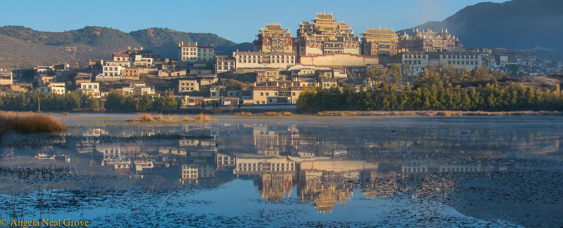 Shangri-La: Ganden Sumtseling Monastery, Shangri-la. Angela Neal Grove