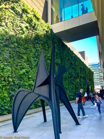 San Franciscos New Art Cornucopia. Living Wall