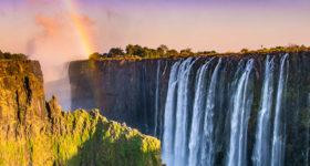 Victoria Falls Smoke That Thunders