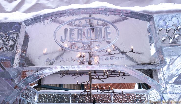 All that glitters: the Hotel Jerome Ice House in Aspen is lit by a stunning Paul Ferrante Chandelier